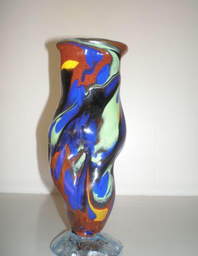 Vase en verre soufflé 01