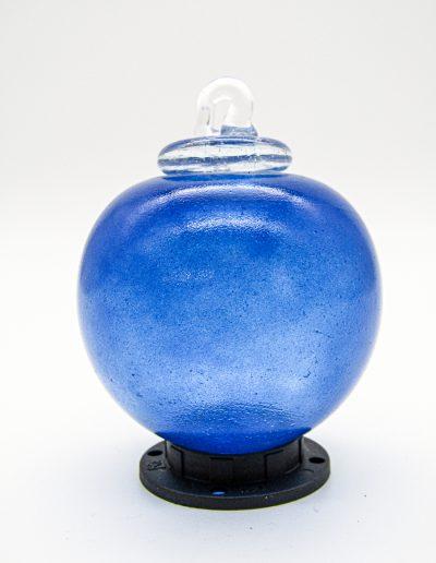 boule de noel bleue