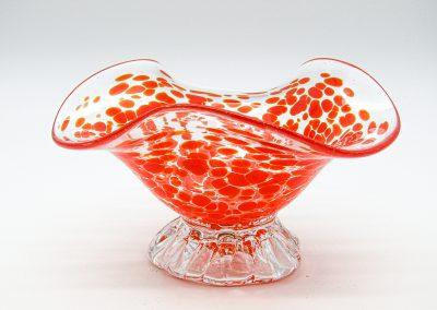 coupelle orange en verre patrick kimbert
