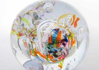 presse-papier sulfure multicolore 3