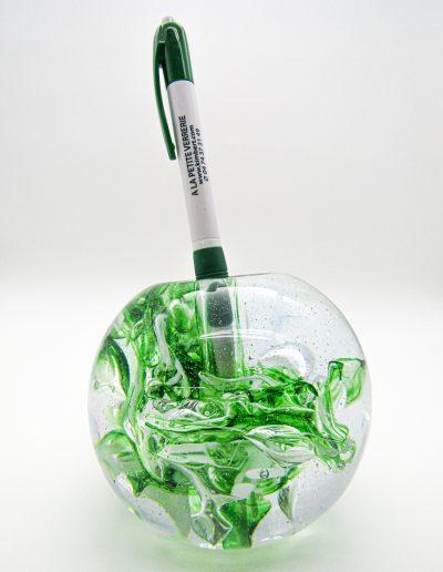 sulfure porte crayon en verre patrick kimbert