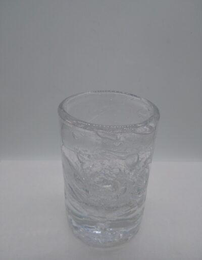 gobelet bullé transparent la petite verrerie