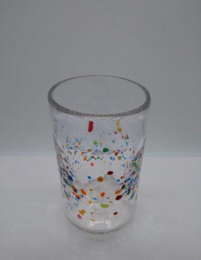 gobelet en cristal soufflé la petite verrerie